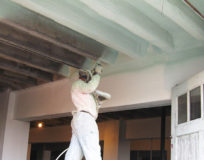 Insulating Interior Celling